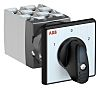 ABB, 3PST 3 Position 60° Rotary Switch, 25A