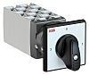 ABB, DPST 4 Position 90° Rotary Switch, 400