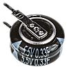 Panasonic 0.33F Supercapacitor EDLC -20 → +80% Tolerance,
