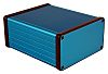 Hammond 1455, Blue Aluminium Enclosure, 120 x 103