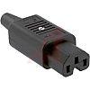 Schurter C15 Cable Mount IEC Connector Socket, 10.0A,