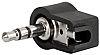 Schurter 3.5 mm PCB Mount Stereo Jack Plug,