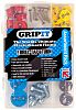 GripIt Fixings 32 Piece Plasterboard Fixing Kit, type: