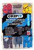 GripIt Fixings 44 Piece Plasterboard Fixing Kit, type: