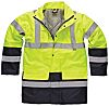 Dickies Black Men Hi Vis Jacket, M