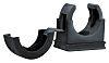 Flexicon Conduit Clip Hose Clamp, Nylon Black 18mm