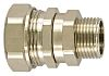 Flexicon FSU Series M25 Straight, Swivel Cable Conduit Fitting, 25mm nominal size