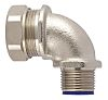 Flexicon LTP Series M20 90° Elbow Cable Conduit Fitting, 20mm nominal size
