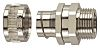 Flexicon SSU Series M32 Straight, Swivel Cable Conduit Fitting, 32mm nominal size