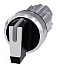 Siemens SIRIUS ACT Selector Switch Head - 3 Position, Momentary, 22mm cutout