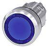 Siemens SIRIUS ACT Ø 22mm Tastend, Blau