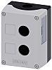 Siemens Grey Plastic SIRIUS ACT Push Button Enclosure - 2 Hole 22mm Diameter