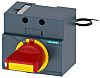 Siemens Sentron Front Mounted Rotary Operator Emergency-Stop, For Use With 3VA1 100/160