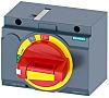 Siemens Sentron Front Mounted Rotary Operator Emergency-Stop, For Use With 3VA2 100/160/250