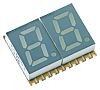 KCDC03-123 Kingbright 2 Digit 7-Segment LED Display, CC
