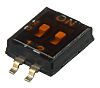 2 Way Surface Mount DIP Switch SPST, Recessed