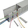 Betaduct Kabelkanal, Verdrahtungskanal, Kunststoff, Grau, 40 mm x 40mm, Länge 2m