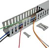 Betaduct Betaduct Metric Grey Slotted Panel Trunking -