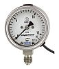 WIKA 50197509 Analogue Positive Pressure Gauge 0mbar, Connection