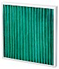 Camfil AeroPleat Green Pleated Panel Filter, Cotton, Synthetic
