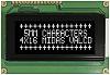 Midas MC41605A12W-VNMLW MC41605 Alphanumeric LCD Display Black, 4