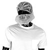PAL White Disposable Beard Mask One Size, Ideal