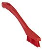 Vikan Red 15mm PET Extra Hard Scrub Brush