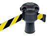 Skipper Black & Yellow Barrier Tape, Retractable 9m