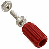 Cinch Connectors 15A, Red Binding Post with Brass