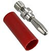 Cinch Connectors Red Male Banana Plug - Solder