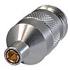 Cinch Connectors 75Ω Straight SMB Connector, Female, Male