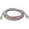 Cinch Connectors Grey PVC Cat5e Cable UTP, 15.24m Male RJ45/Male RJ45