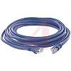 Cinch Connectors Blue PVC Cat5e Cable UTP, 7.62m Male RJ45/Male RJ45 Terminated