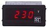 digitális panelbe építhető többfunkciós műszer, Beta 90, 0 → 10V, 4