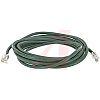 Cinch Connectors Green Cat5e Cable UTP, 910mm Male RJ45/Male RJ45