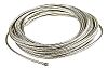 TE Connectivity Expandable Braided Tin Plated Copper Alloy Silver Cable Sleeve, 10mm Diameter, 10m Length, INSTALITE