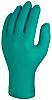 Skytec Green Nitrile Disposable Gloves size 9 -
