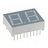 LDD-C513RI Lumex 2 Digit 7-Segment LED Display, CC