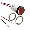 Dialight Red Indicator, Lead Wires Termination, 5 V
