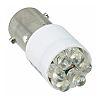 Visible LED, BA9s, White, Cluster, T-3 1/4 Lamp,