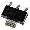 P-Channel MOSFET, 980 mA, 100 V, 3 +