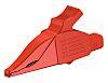 Staubli Crocodile Clip, 19A, Red
