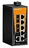 Weidmüller Unmanaged Ethernet Switch, 6 RJ45 port DIN