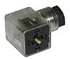 RS PRO 2P+E DIN 43650 A, Female Solenoid Connector, 230 V ac Voltage
