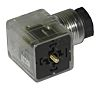 RS PRO 3P+E DIN 43650 A Solenoid Connector,