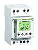 1 Channel Digital DIN Rail Switch Measures Hours,