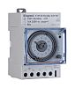1 Channel Analogue DIN Rail Switch Measures Hours,