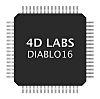 DIABLO16, Graphics Controller 64-Pin TQFP