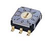 10 Way Surface Mount Rotary Switch, Rotary Coded