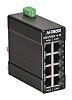 Red Lion Ethernet Switch, 8 RJ45 port DIN